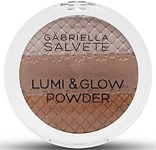 Perfumería y cosmética Polvo iluminador y bronceador - Gabriella Salvete Lumi & Glow Powder