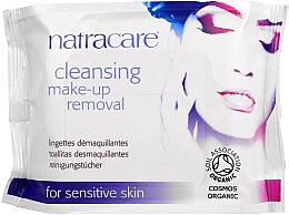 Perfumería y cosmética Toallitas desmaquillantes orgánicas para pieles sensibles - Natracare Cleansing Make-Up Removal Wipes