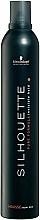 Perfumería y cosmética Espuma para cabello, fijación fuerte - Schwarzkopf Professional Silhouette Mousse Super Hold
