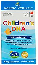 Perfumería y cosmética Complemento alimenticio de Omega-3 para niños, 250mg - Nordic Naturals Children's DHA