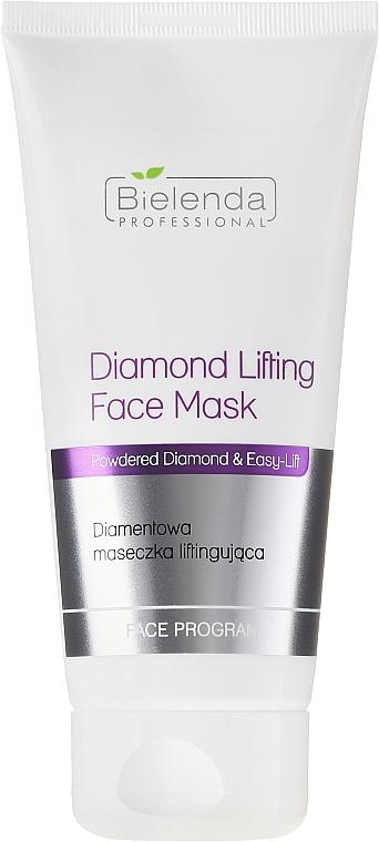 Mascarilla facial con polvo de diamantes y colágeno - Bielenda Professional Face Program Diamond Lifting Face Mask