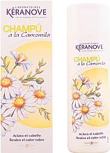 Perfumería y cosmética Champú realzador del color rubio con camomila - Eugene Perma Keranove Camomile Shampoo