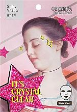 Perfumería y cosmética Mascarilla facial iluminadora de algodón con extracto de pimienta roja - Oerbeua Shiny Vitality Radiant Mask