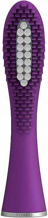 Cabezal de recambio de silicona y polímero PBT para cepillo dental eléctrico - Foreo Issa Mini Hybrid Brush Head Enchanted Violet