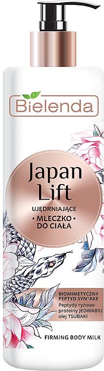 Leche corporal reafirmante con aceite de camelia japonica - Bielenda Japan Lift Body Milk