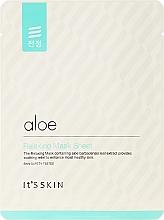 Perfumería y cosmética Mascarilla facial de tejido impregnada con extracto de aloe vera - It's Skin Aloe Relaxing Mask Sheet