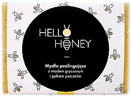 Perfumería y cosmética Jabón sólido exfoliante con miel - Lullalove Exfoliating Soap Bar With Honey