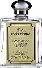 Perfumería y cosmética Taylor Of Old Bond Street Sandalwood Aftershave Lotion Alcohol-Based - Loción aftershave con aroma a sándalo