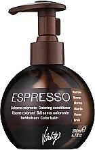 Perfumería y cosmética Bálsamo colorante con proteínas vegetales - Vitality's Art Espresso