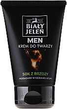 Perfumería y cosmética Crema facial para hombre con aceite de cardo, jugo de abedul y alantoína - Bialy Jelen Hypoallergenic Face Cream For Men