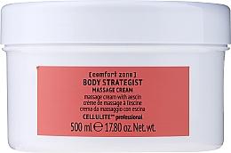 Perfumería y cosmética Crema de masaje anticelulítica con escina - Comfort Zone Body Strategist Massage Cream