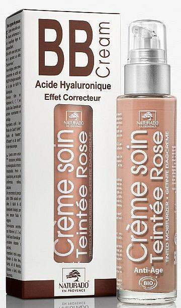 Crema facial correctora con aceite de avellana & ácido hialurónico 3 en 1 - Naturado En Provence Bio BB Cream — imagen N1