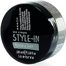 Perfumería y cosmética Pasta moldeadora de cabello de fijación flexible - Inebrya Style-In Memory Gum Paste