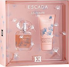 Perfumería y cosmética Escada Celebrate Life - Set (edp/30ml + loción corporal/50ml)