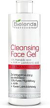 Perfumería y cosmética Gel facial limpiador con ácido glicólico - Bielenda Professional Exfoliation Face Program Cleansing Face Gel