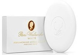 Perfumería y cosmética Jabón corporal cremoso con aroma floral - Pani Walewska White Creamy Soap
