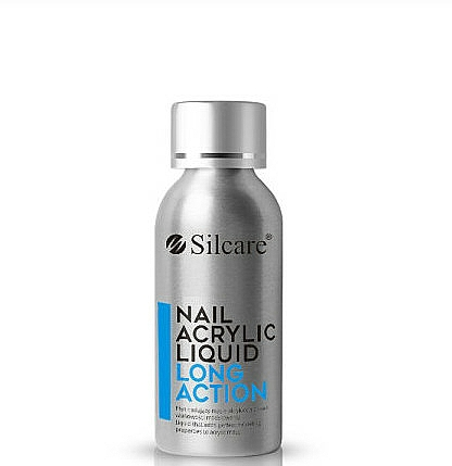 Acrílico líquido para uñas, acción larga - Silcare Nail Acrylic Liquid Comfort Long Action