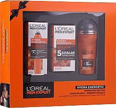 Perfumería y cosmética Set (deo/50ml + crema facial/50ml + roll-on contorno de ojos/10ml) - L'Oreal Paris Men Expert