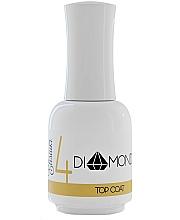 Perfumería y cosmética Top coat gel, UV/LED - Elisium Diamond Liquid 4 Top Coat