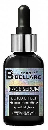 Sérum facial con aceite de almendras dulces, efecto bótox - Fergio Bellaro Botox Effect Face Serum White