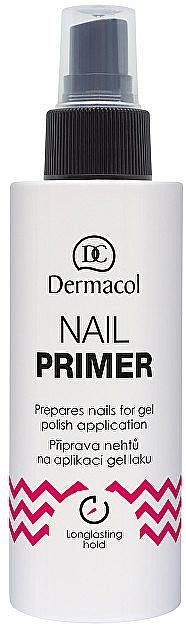 Spray prebase de uñas para esmalte gel - Dermacol Nail Primer — imagen N1