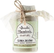 Perfumería y cosmética Arcilla verde marroquí para rostro en polvo - Beaute Marrakech Green Clay
