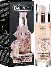 Perfumería y cosmética Sérum facial rejuvenecedor con aceite de camelia, péptidos & trehalosa - Bielenda Camellia Oil Luxurious Rejuvenating Serum