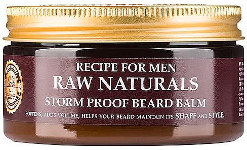 Bálsamo para barba con aceites naturales - Recipe For Men RAW Naturals Storm Proof Beard Balm
