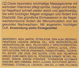 Crema de masaje de uñas restauradora con proteínas de seda y vitaminas A y E - Artdeco Nail Massage Cream — imagen N3