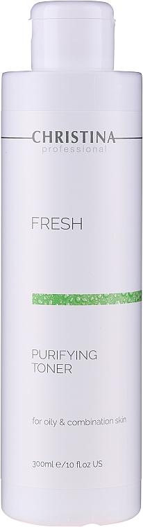 Tónico purificante con aceite de pomelo y extracto de camomila - Christina Purifying Toner for oily skin with Lemongrass