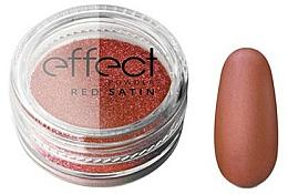 Perfumería y cosmética Polvo para uñas - Silcare Red Satine Effect Powder