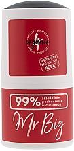 Perfumería y cosmética Desodorante antitranspirante roll-on con aroma a ciprés y jengibre para pieles sensibles - 4Organic Mr. Big Man Deo Roll-On