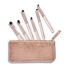 Perfumería y cosmética Set de brochas para maquillaje con neceser - Nabla Denude Eye Brush Set