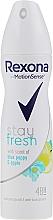 Perfumería y cosmética Desodorante spray antitranspirante - Rexona Blue Poppy & Apple Stay Fresh