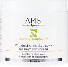 Perfumería y cosmética Mascarilla facial natural e iluminadora reductora de la decoloración con algas - APIS Professional Discolouration-Stop Brightening Algae Mask For Reduction of Discolouration