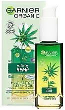 Perfumería y cosmética Aceite facial orgánico de cáñamo revitalizante y nutritivo - Garnier Bio Multi-Repair Sleeping Oil