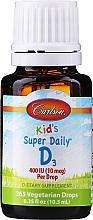 Perfumería y cosmética Complemento alimenticio vitamina D3 - Carlson Labs Kid's Super Daily D3