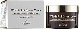 Perfumería y cosmética Crema facial antiarrugas para piel áspera con extracto de baba de caracol - The Skin House Wrinkle Snail System Cream