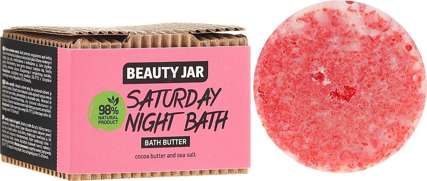 Manteca de baño natural de cacao y sal marina - Beauty Jar Saturday Night Bath Bath Butter