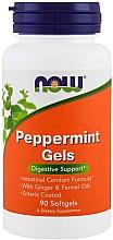 Perfumería y cosmética Complemento alimenticio en cápsulas de menta - Now Foods Peppermint Gels