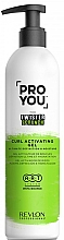 Perfumería y cosmética Gel activador de rizos, máxima definición e hidratación - Revlon Professional Pro You The Twister Scrunch Curl Activator Gel
