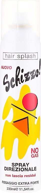 Laca para cabello, fijación extra fuerte - Renee Blanche Schizzo! No-Gas Extra Forte Spray — imagen N1