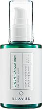 Perfumería y cosmética Sérum facial calmante con extracto de árbol de té y ácido hialurónico - Klavuu Green Pearlsation Pha Calming Serum