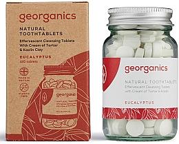 Perfumería y cosmética Pasta dental en tabletas con aceite de eucalipto - Georganics Toothtablets Eucalyptus