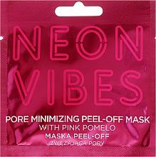 Perfumería y cosmética Mascarilla facial con pomelo rosado - Marion Neon Vibes Pore Minimizing Peel-off Mask