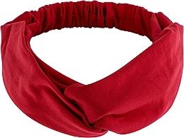 """Perfumería y cosmética Cinta de pelo, de tela, roja """"Knit Twist"""" - MakeUp Hair Accessories"""