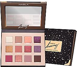 Perfumería y cosmética Paleta de sombras de ojos, 12 colores - Nabla Dreamy Eyeshadow Palette