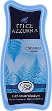 Perfumería y cosmética Gel absorbente de oleres, aroma clasico - Felce Azzurra Gel Air Freshener Classic Talc