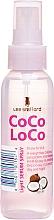 Perfumería y cosmética Spray para brillo con coco - Lee Stafford Coco Loco CocoNUT Light Serum Spray