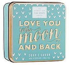 Perfumería y cosmética Jabón de manos y cuerpo con glicerina - Scottish Fine Soaps Love You To The Moon And Back Soap In A Tin